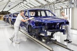 VW Touareg Produktion