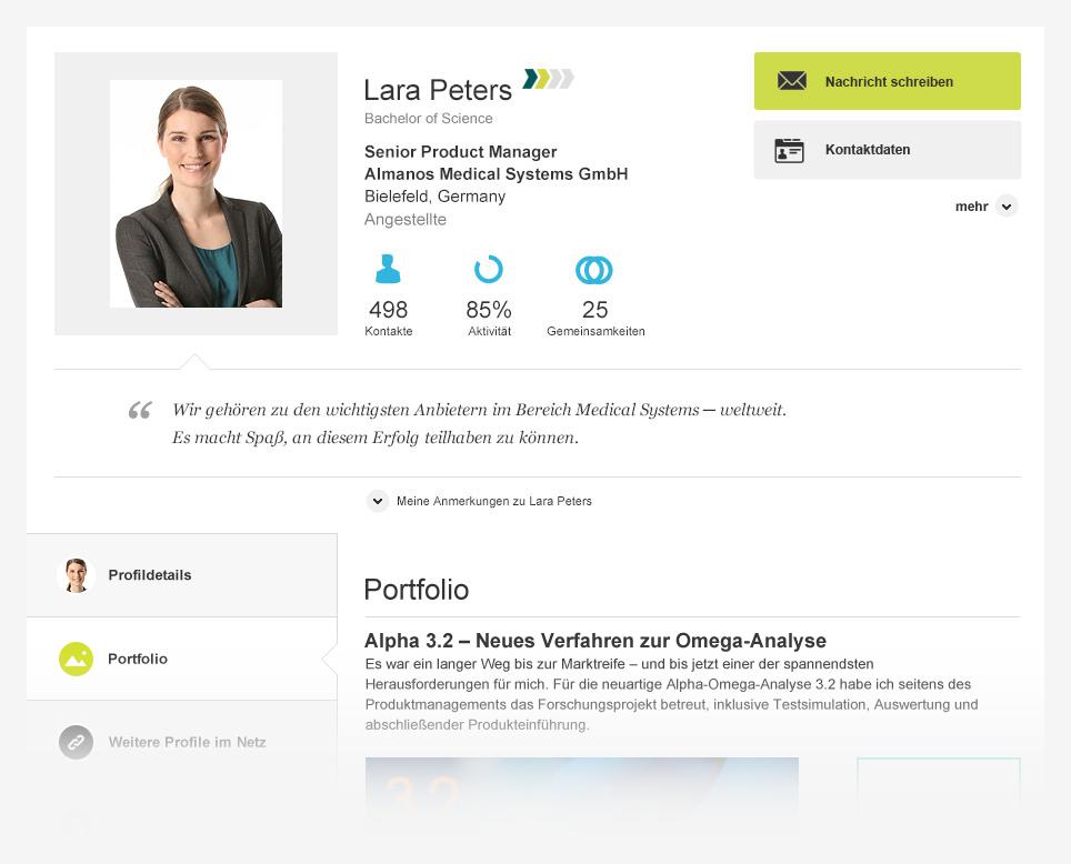 Business netzwerk xing gestaltet profile neu bild for Business netzwerk