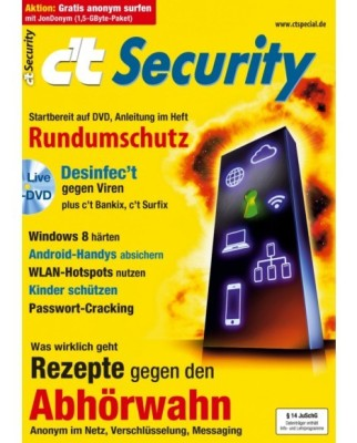 Titelbild Sonderheft c't Security