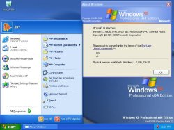 Windows XP Professional x64-Edition RTM