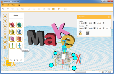 3D-Software xyzMaker
