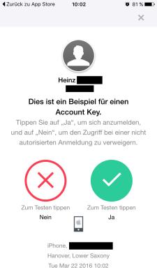 Ab sofort können sich Yahoo-Nutzer ohne Passwort bei den Diensten des Anbieters einloggen. Dafür wird eine Push-Nachricht auf ein Smartphone geschickt.