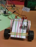 Vier Räder, zwei LEDs und ein Namensschild - fertig ist das Elektroauto!