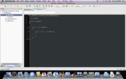 MonoDevelop unter Mac OS X