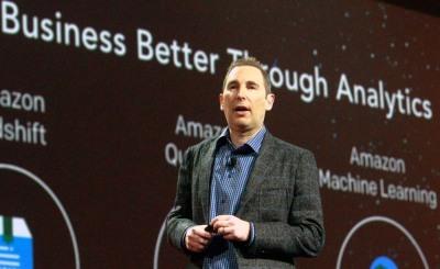 AWS-Chef Andy Jassy stellte die Vielzahl der Neuerungen selbst vor.