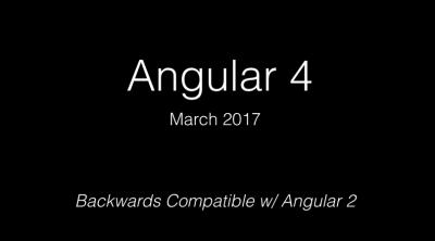 Die Folie des leitenden Angular-Entwicklers Igor Minar auf Twitter