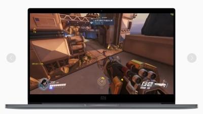 Dank Ge Force MX 150 mit Pascal-GPU soll das Mi Notebook Pro sogar eingeschränkt spielefähig sein.                          Bild Xiaomi