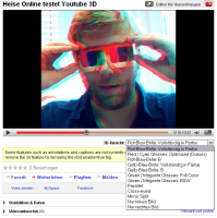 Heise testet YouTube 3D