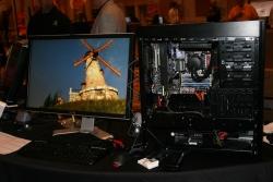 Stereoskopische 3d darstellung mit mehreren monitoren