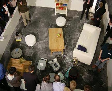 deutsche und tschechen gewinnen putzroboter wettbewerb. Black Bedroom Furniture Sets. Home Design Ideas