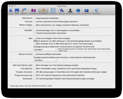 Tinkertool Mac Os X 10.6 8