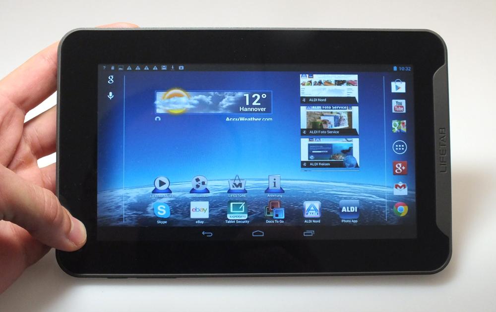 ausprobiert medions aldi tablet mit android f r 100 euro. Black Bedroom Furniture Sets. Home Design Ideas