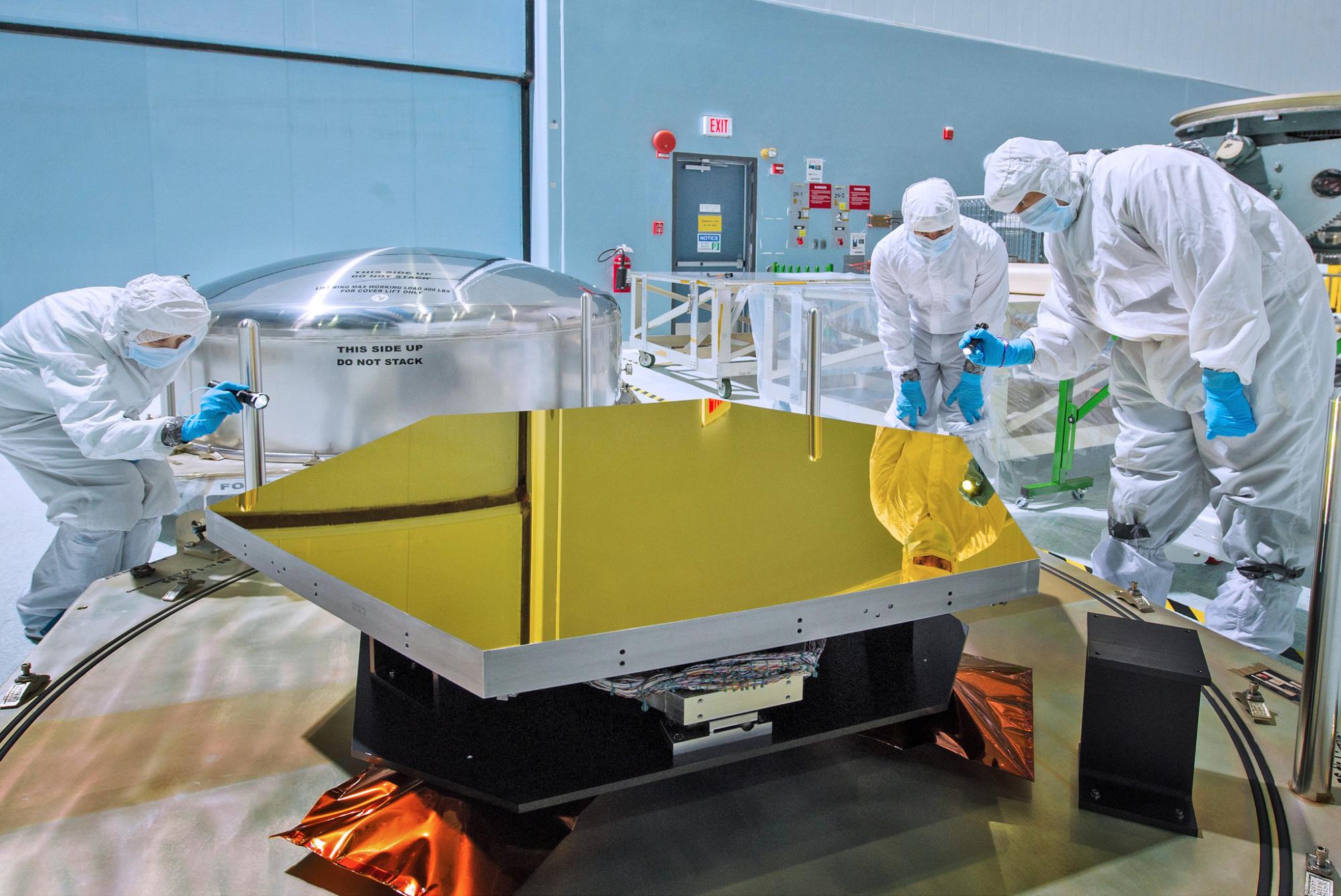 JWST: NASA beginnt Endfertigung des James-Webb-Weltraumteleskops