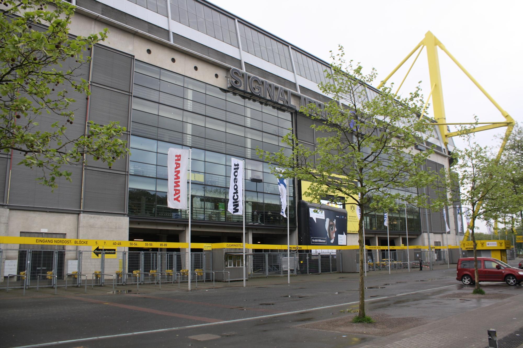 größte stadion deutschlands
