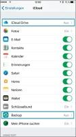 iCloud-Einstellungen