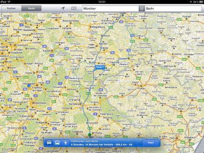 Routenplaner App Ios 8