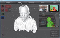 Skanect 3D-Scan Kinect