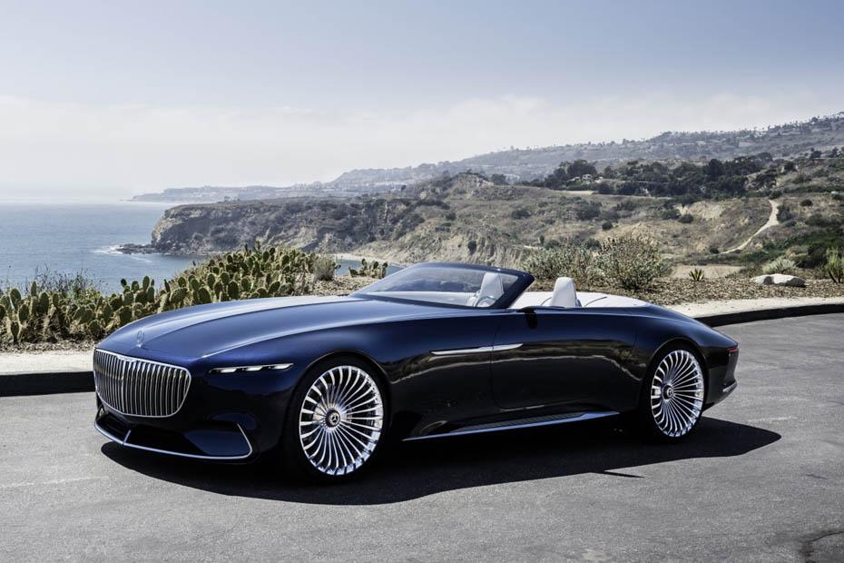 bild 1 / 18 - autos - studie: mercedes-maybach 6 cabriolet | heise autos