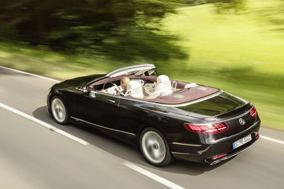 bild 1 16 autos mercedes s klasse cabrio und coup facelift heise autos. Black Bedroom Furniture Sets. Home Design Ideas