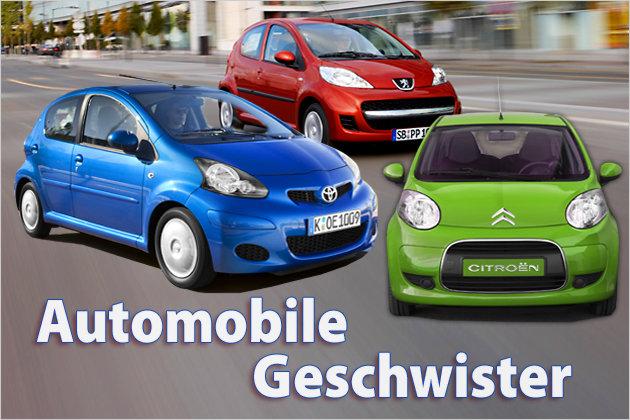 Bild 1 / 58 - Bildergalerien - Unter Brüdern: Autos, die sich eine ...