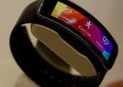 Samsungs Fitness-Band: Gear Fit