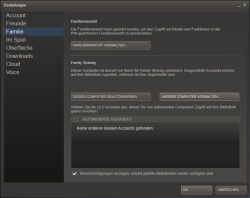 how to add accounts to family sharing steam