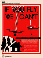 Poster: If you fly, we can't