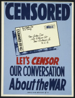 """Lets CENSOR our conversation about the war."""