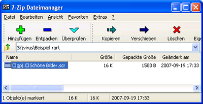 Unicode-Zeichenketten in Windows XP