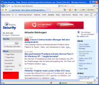 Heise Security im IE7