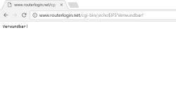 Wenn Sie diesen Hinweis sehen, ist Ihr Router gefährdet..