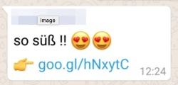 WhatsApp-Nachricht mit falschem Versprechen