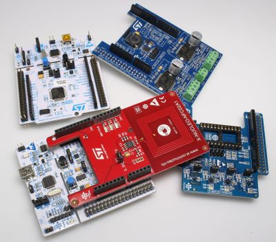 STM32 Nucleo expansion boards