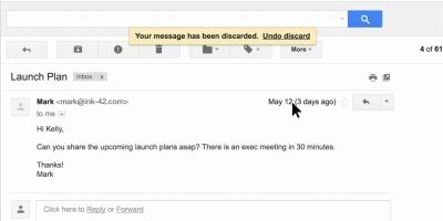 Schicken G-Suite-Nutzer Unbekannten eine E-Mail, wird die Nachricht zunächst abgelehnt.