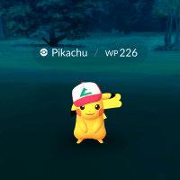 Pikachu mit 'nem Hut.
