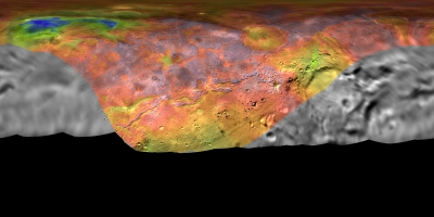Reliefkarte von Charon (nach Zoom 20 Megabyte)