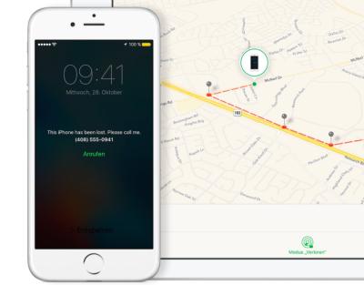 Angreifer missbrauchen den eigentlich sehr nützlichen Verloren-Modus, den Apple über iCloud anbietet.