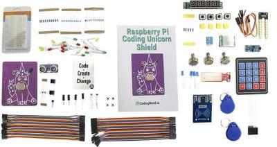 Viele elektronische Bauteile