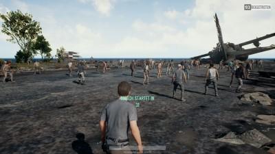 Die offene Spiel-Lobby ist voll von rassistischen Kommentaren.