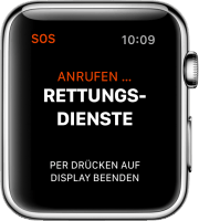 Notruf Apple Watch