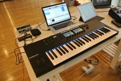 Die Keyboards mit 49 und 61 Tasten wurden mit einer umfrangreichen DAW-Steuerung nachgerüstet.
