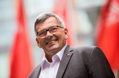 Jörg Hofmann, Vorsitzender der IG Metall