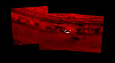 Cassinis Absturzstelle auf dem Saturn