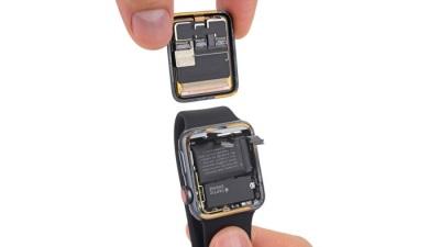 Apple Watch Series 3 aufgemacht.