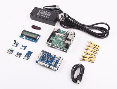Bauteile des UP2-IoT-Development-Kits