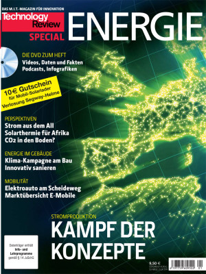 Titelseite TR Special Energie