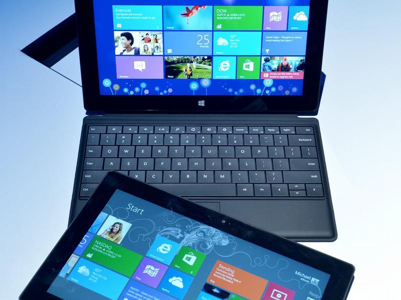 Windows 8 auf Notebooks und Tablets