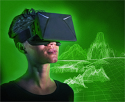 Virtual-Reality-Brille Oculus Rift